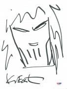 Kevin Eastman Signed 9X12 Ninja Turtles Sketch PSA/DNA #X31598