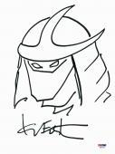 Kevin Eastman Signed 9x12 Ninja Turtles Sketch PSA/DNA #X80292