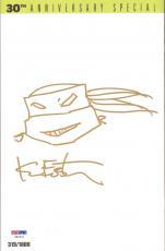 KEVIN EASTMAN Signed Autographed TMNT Ninja Turtles Comic Book w/ Sketch PSA/DNA