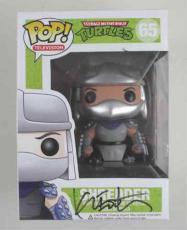 Kevin Eastman Teenage Mutant Ninja Turtles Signed Funko Pop Doll PSA/DNA COA