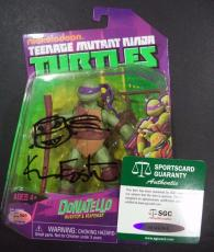 Kevin Eastman Tmnt Signed Autographed Donatello Figure New In Box Sgc Authentic