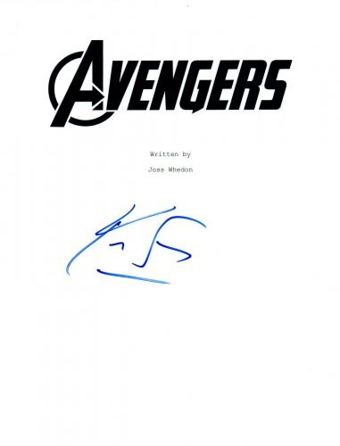 Kevin Feige Signed Autographed THE AVENGERS Movie Script Screenplay COA