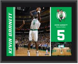 "Boston Celtics Kevin Garnett 10"" x 13"" Sublimated Plaque - Mounted Memories"