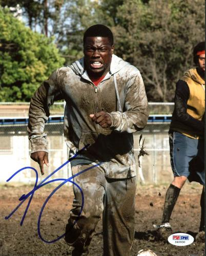 Autographed Kevin Hart Photo - The Wedding Ringer 8X10 PSA DNA #Z40930