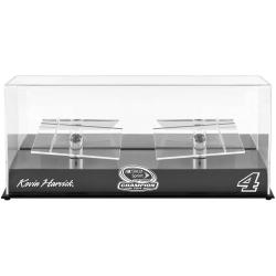 Kevin Harvick 2014 NASCAR Sprint Cup Champion 2 Car 1/24 Scale Die Cast Display Case