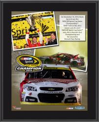 Kevin Harvick 2014 NASCAR Sprint Cup Series Champion 10'' x 13'' Sublimated Plaque Collage