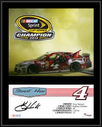 Kevin Harvick 2014 NASCAR Sprint Cup Series Champion 12'' x 15'' Sublimated Plaque