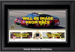 Kevin Harvick 2014 NASCAR Sprint Cup Series Champion Frame Mini- Pano Collage With Race Used Tire Limited Edition 500