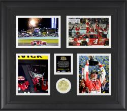 Kevin Harvick 2014 NASCAR Sprint Cup Series Champion Framed Collage With Limited Edition Coin Limited Edition of 500