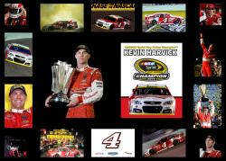 Kevin Harvick 2014 NASCAR Sprint Cup Series Champion 29'' x 22'' Framed Multi Photo Collage