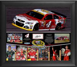 Kevin Harvick 2014 NASCAR Sprint Cup Series Champion Framed Season In Review Photo Collage 20x24 With Autograph-Limited Edition 104