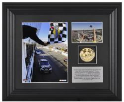 Kevin Harvick '11 Goody's Fast Pain Relief 500 Winner 6''x 8'' Photo with Plate and Coin - Limited Edition of 329 - Mounted Memories