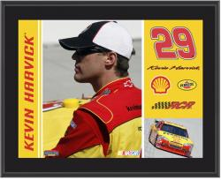Kevin Harvick 10.5'' x 13'' Sublimated Plaque - - Mounted Memories