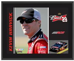 Kevin Harvick 10.5'' x 13'' Sublimated Plaque - Mounted Memories