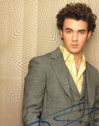 Kevin Jonas Autographed Signed Wall Photo UACC RD PSA/DNA AFTAL