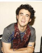 Kevin Jonas Autographed Vested Photo UACC RD PSA/DNA AFTAL