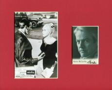 Kevin McCarthy The Misfits Signed Autograph Photo Display W/ Marilyn Monroe