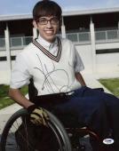 Autographed McHale Photo - Glee 11x14 Psa dna #k63215