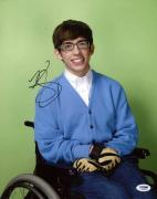 Autographed Kevin McHale Photograph - Glee 11x14 Psa dna #s33529