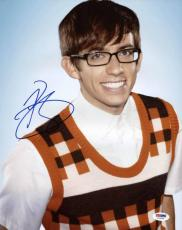Kevin McHale Autographed Photo - Glee 11x14 Psa dna #t76180