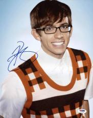 Kevin McHale Autographed Photo - Glee 11x14 Psa dna #t76180