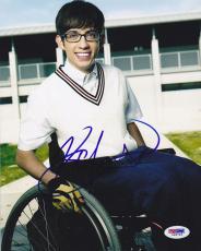 Autographed Kevin McHale Photograph - 8x10 Artie Abrams Glee PSA DNA