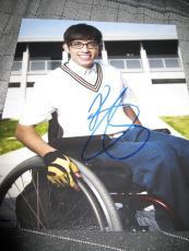 Kevin McHale Autographed Picture - AUTOGRAPH 8x10 GLEE PROMO COA C