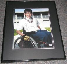 Autographed McHale Photograph - Framed 11x14 PSA DNA Glee Artie Abrams