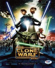 Kevin Michael Richardson Star Wars: The Clone Wars Signed 8x10 Photo Psa #x12200