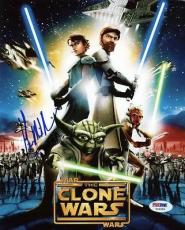 Kevin Michael Richardson Star Wars: The Clone Wars Signed 8x10 Photo Psa #x12205