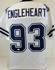 "Kevin Nash Signed ""Officer Engleheart"" Longest Yard Jersey JSA Witness #WP30853"