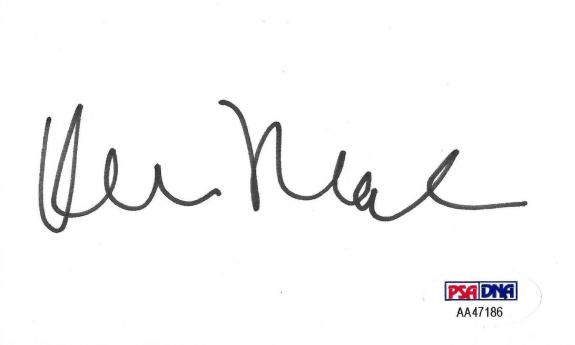 Kevin Nealon Signed 3x5 Index Card PSA/DNA Autograph Weeds Saturday Night Live