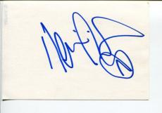 Kevin Richardson Backstreet Boys Singer Signed Autograph Card