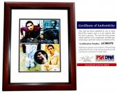Kevin Richardson Signed - Autographed Backstreet Boys 11x14 inch Photo with PSA/DNA Certificate of Authenticity (COA) MAHOGANY CUSTOM FRAME