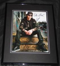 Kevin Rudolf Signed Framed 8x10 Photo AW Let it Rock I Made It