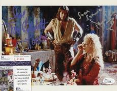 Kevin Sorbo/traci Lords Hercules Signed 8x10 Photo W/coa Jsa L41378