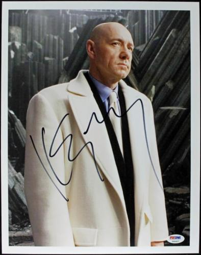 Kevin Spacey Superman Returns Signed 11X14 Photo PSA/DNA #T50427