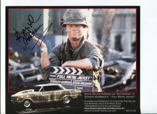 Kevyn Major Howard Full Metal Jacket Great Signed Autograph Photo