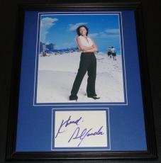 Khandi Alexander Signed Framed 11x14 Photo Display CSI Miami