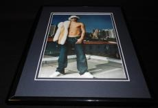 Kid Rock 2007 Shirtless on Rooftop Framed 11x14 Photo Display