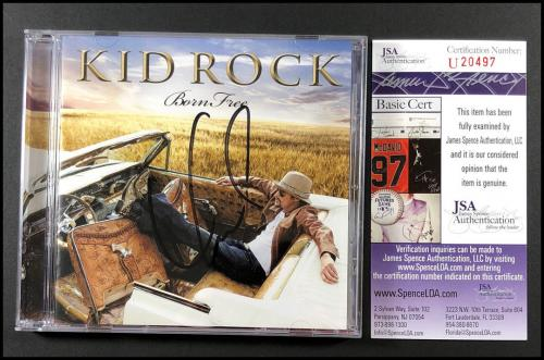 Kid Rock Autographed Signed Born Free Cd Booklet Rock Country Music Jsa Coa