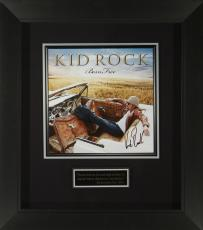 Kid Rock Signed Born Free Album Flat Framed Display