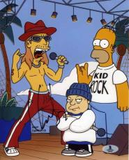 Kid Rock Simpsons Autographed Signed 8x10 Photo Beckett BAS COA