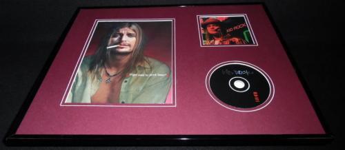 Kid Rock Smoking 16x20 Framed CD & Photo Display