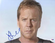 Kiefer Sutherland Autographed Signed 11x14 Photo PSA DNA