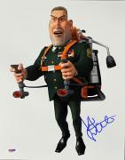 Kiefer Sutherland Monsters Vs Aliens Signed 11X14 Photo PSA #L68934