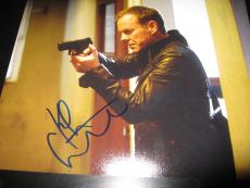 KIEFER SUTHERLAND SIGNED AUTOGRAPH 8x10 PHOTO 24 PROMO LIVE ANOTHER DAY COA I