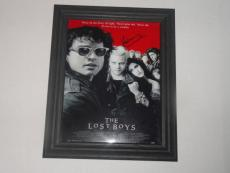 "Kiefer Sutherland Signed Framed ""the Lost Boys"" 8.5x11 Movie Poster Proof"