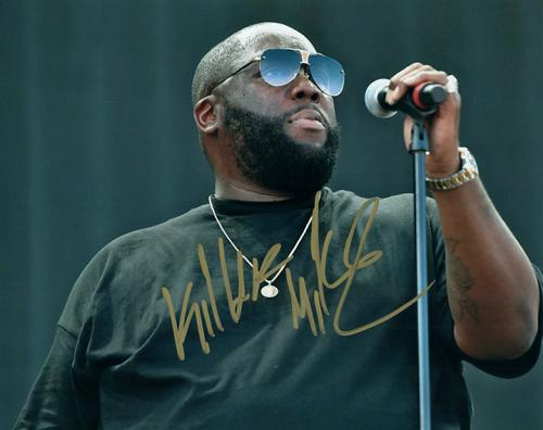 Killer Mike Autographed Signed Live Photo UACC RD RACC TS