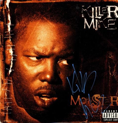 Killer Mike Signed Autographed Monster Album Cover UACC RD COA AFTAL